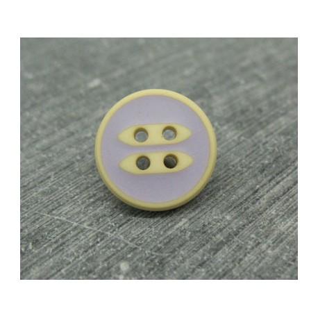 Bouton cannette beige lavande 15mm
