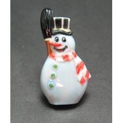 Bouton bonhomme de neige pierre 40   mm b70