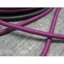 Elastique rond violet 3mm