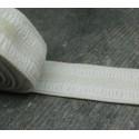 Elastique blanc  20 mm par 2,5 m