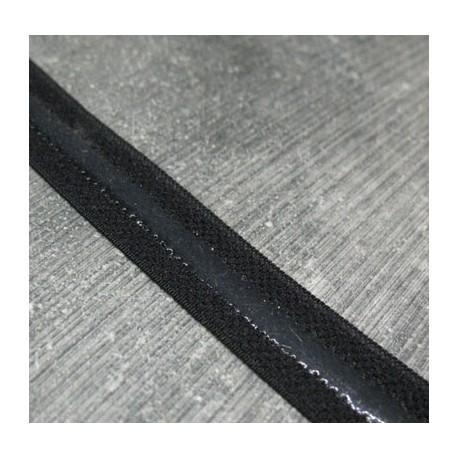 Elastique anti glisse noir 13mm