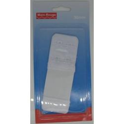 Rallonge de soutien gorge blanc 30mm