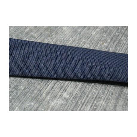 Biais marine 15mm fini coton