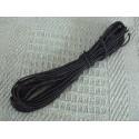 Elastique rond noir 2mm