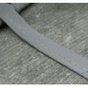 Passepoil professionnel réfléchissant gris 10mm