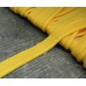 Passepoil jaune coton 8mm