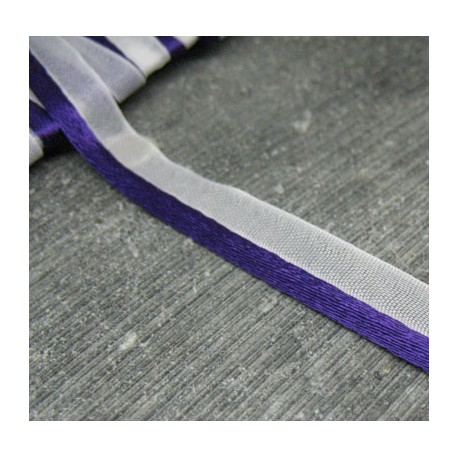 Passepoil satin violet 9mm