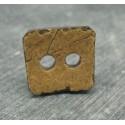 Bouton coco carré 22mm