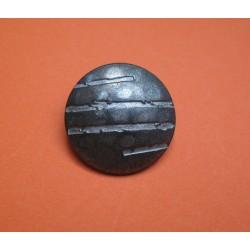 Bouton griffe vieil argent 23mm
