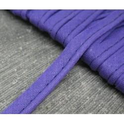 Passepoil coton violet 8mm