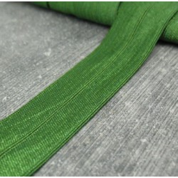 Elastique bordeur vert 20mm