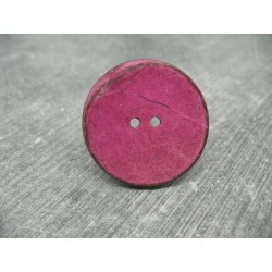 Bouton coco framboise 32mm