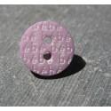 Bouton bébé rose mauve 13 mm b57