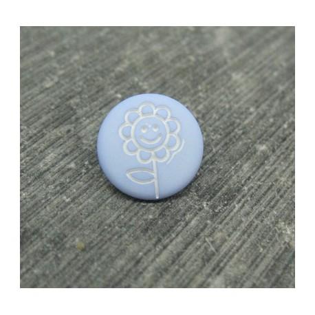 Bouton fleur tournesol ciel 12mm