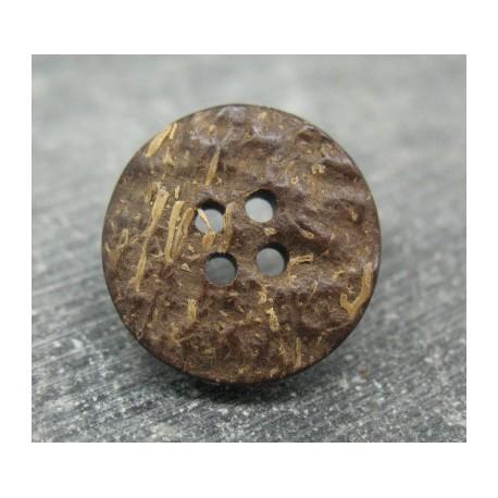 Bouton coco 4t naturel 21mm
