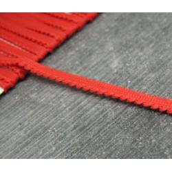 Passepoil fantaisie coton rouge 5mm