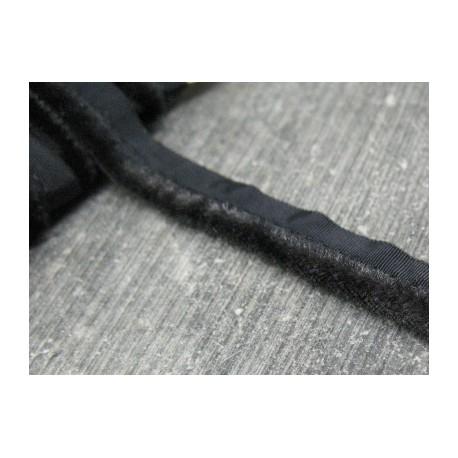 Passepoil velours noir 10mm