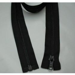 Zip noir maille  6mm de 50 à 75cm