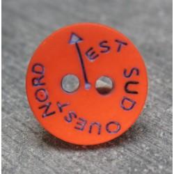 Bouton NSEO orange 13 mm b61