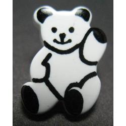 Bouton panda b18