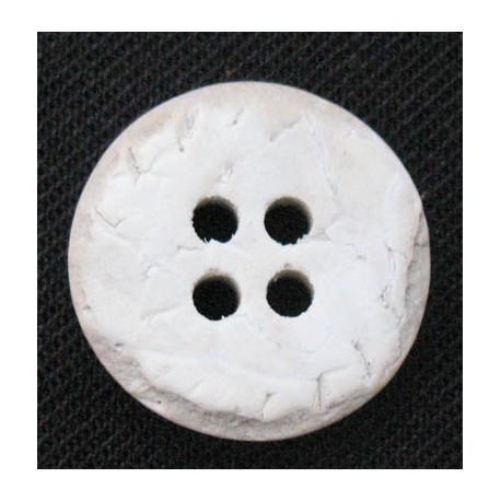 Bouton coco blanchie 15 mm b36