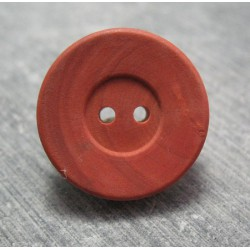 Bouton buis rouge 22mm